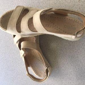 ECCO Sandals, Size 8, Velcro closures